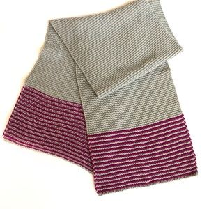 David & Young chunky knit scarf NWT